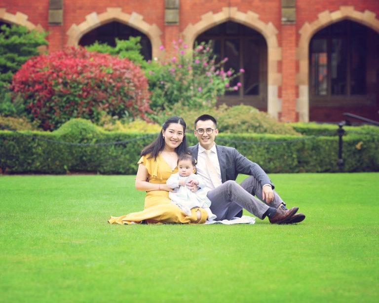 Family Photography Queens University Belfast.